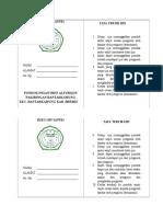 Buku Ijin Santri Fix