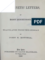 Karl Von Reichbach Odic Magnetic Letters