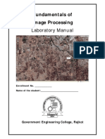 Fundamentals of Image Processing Lab Manual SET 1