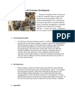 Indicators for Economic Development