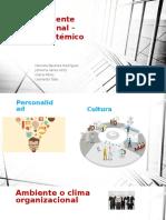 Teoría Ambiente Organizacional Enfoque Sistémico 2 1