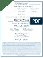 Wilson Invite
