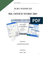 Panduan Ms Word 2003