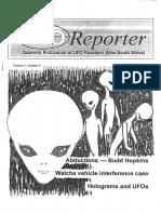 UFO Reporter - Volume 1, Number 4 (December 1992)