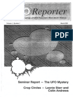 UFO Reporter - Volume 1, Number 1 (March 1992)