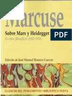 MARCUSE, Herbert - Sobre Marx y Heidegger. Escritos filosoficos (1932-1933).pdf