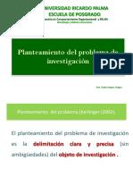 1.5 Planteamiento Del Problema de Investigacion