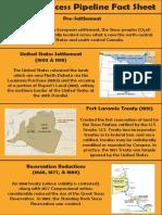 Dakota Access Pipeline Factsheet (Bulletin Insert) #nodapl