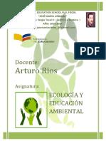 PORTADA DE ECOLOGÍA