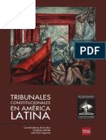 Helmke y Ríos. 2010. Tribunales Constitucionales en America Latina