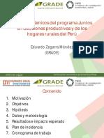 Efectos Dinaicos Con Programa Juntos Eduardo_zegarra