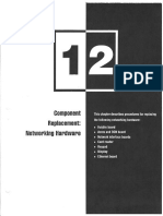 12 Component Replacement Networking