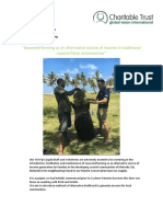 2016 - 10 October GVI Fiji Caqalai Achievement Report Seaweed Farming