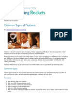 common signs of dyslexia   reading rockets