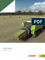 Claas Quadrant 2100 Manual
