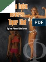 Venus Index Transformation Diet