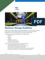 Elastomer Storage Guidelines