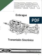 Manual Reparacion y Servicio - Embrague y Caja de Velocidades.pdf