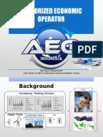 Presentasi AEO Indonesia (English)