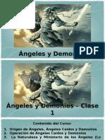 Ángeles y Demonios Clase 1