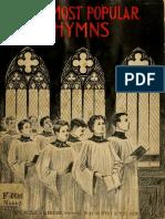 Hinos Evangélicos Populares  ( Partituras)