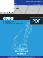 Kobelco CKE600 Operator Manual