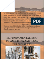 El Fundamentalismo Islc3a1mico