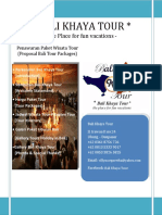 Bali Khaya Tour Proposal Penawaran Paket Tour Bali