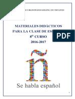Методический Материал По Испанскому Языку Для 8 Класса
