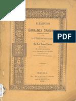 Elementos de Gramatica Sanskrita