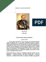 Carlos Antonio Fragoso Guimarães - Quem foi e o que fez Allan Kardec