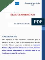 SILABO DE MATEMATICA