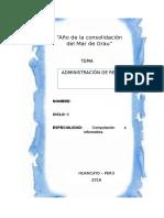 Monografia de Administracion de Redes