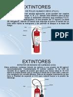 Equipos Extintores CO2 y PQS
