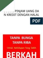 Solusi Pinjam Uang Halal