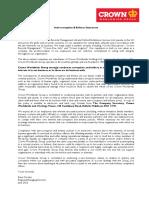 AntiBribery&CorruptionStatement