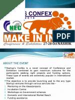 Make in India - Startups Confex 2015 Nashik