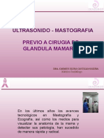 Mastografia-ultrasonido de Mama - Nueva