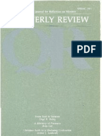 Spring 1981 Quarterly Review - Theological Resources for Ministry