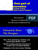 How To Be More Interesting Edward De Bono Pdf