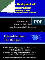 How To Be More Interesting Edward De Bono Pdf