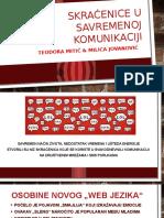 SKRACENICE U SAVREMENOJ KOMUNIKACIJI.pptx
