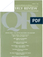Spring 1984 Quarterly Review - Theological Resources for Ministry