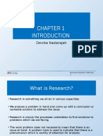 Chapter 1 Introduction to Business Research Edited
