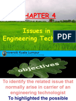 Chapter 4 Issues in Engineering Technology