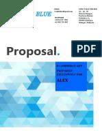 Ecommerce App Proposal