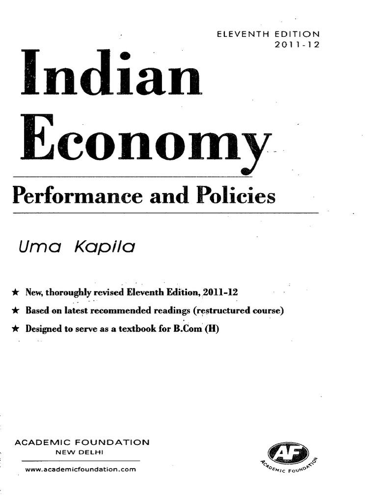 Economy Book Index Economic Growth Poverty