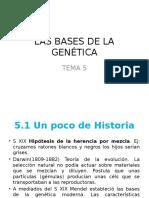 Las Bases de La Genética