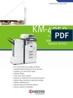 Manual Book Kyocera KM-4050
