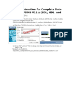 WorkingInstruction Complete Data-Import PDMS V12x 20130724